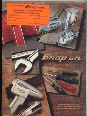 1988 Snap On Tool Catalog